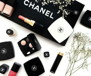 channel, fashion, and makeup image