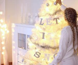 christmas, tree, and cosy image