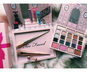 makeup, too faced, and fashion image