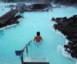 blue lagoon, Dream, and paradise image