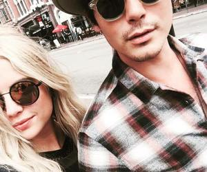 ashley benson, tyler blackburn, and pretty little liars image