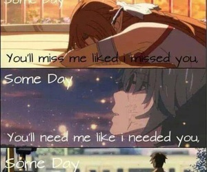 anime, quote, and miss image