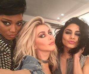 kiss, julianne hough, and grease live image