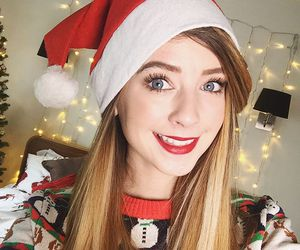 zoella, christmas, and zoe sugg image