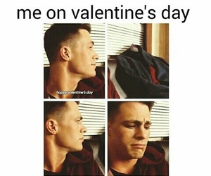 colton haynes, funny, and Valentine's Day image
