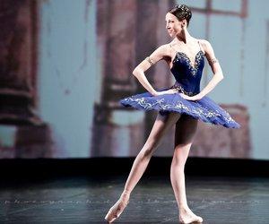 ballerina, ballet, and dance image
