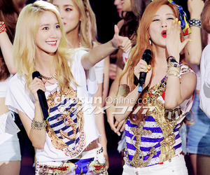 couple, snsd, and yoona image