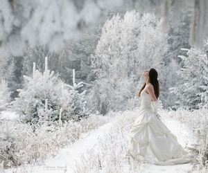 snow, white, and dress image