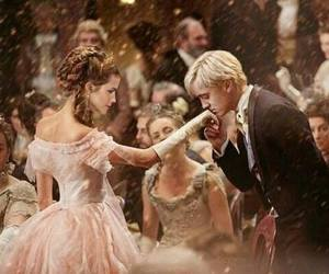 dramione, hermione granger, and harry potter image
