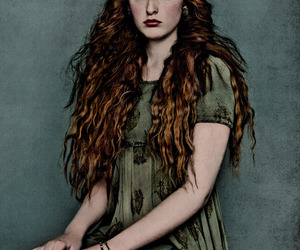 portrait and redhead image