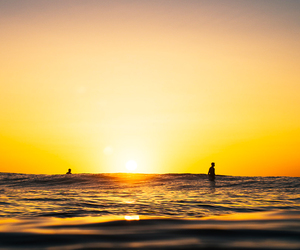 waves, surf, and surfing image