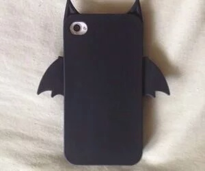 batman, iphone, and black image