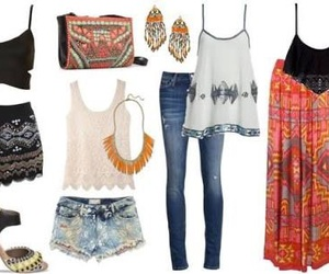 boho, clothes, and looks image