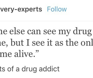 addict, Addition, and drugs image