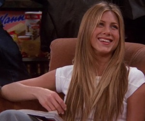 blond, hair, and rachel green image