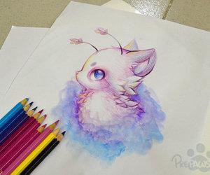 draw, art, and animal image