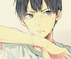 haikyuu, anime, and kageyama image