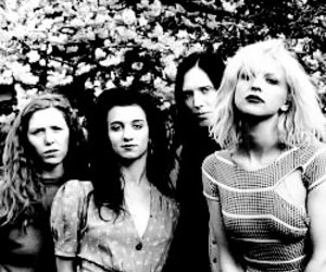 hole, Courtney Love, and 90's image