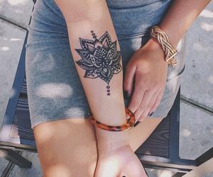 fashion, tattoogoals, and girl image