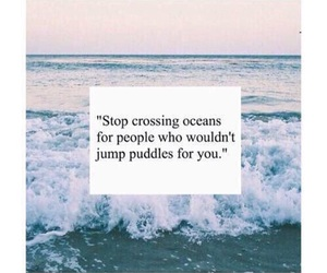 quotes, ocean, and life image