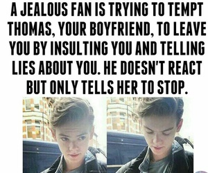 thomas brodie sangster and love image