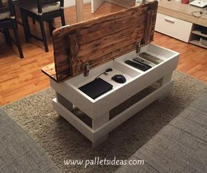 Tables, coffee tables, and pallet coffee table image