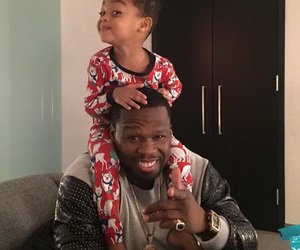 50 cent, christmas, and daddy duties image