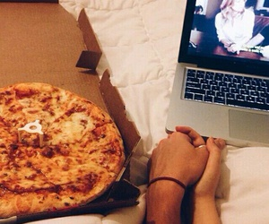goal, pizza, and cute image