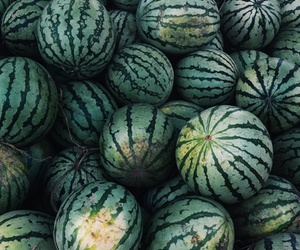 food, watermelons, and fruit image