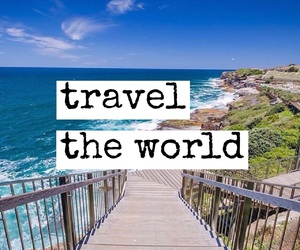 beach, font, and travel image