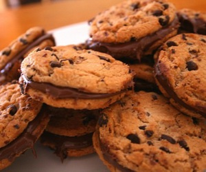 food, miam, and cookie image