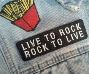 rock, grunge, and live image