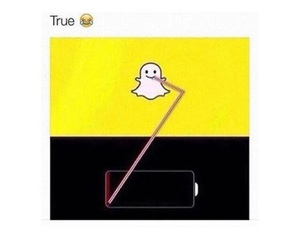 snapchat, true, and funny image