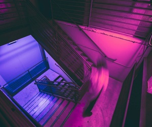 purple, neon, and pink image