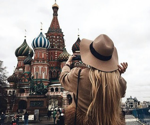 blonde, hat, and russia image