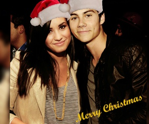christmas, dylan o'brien, and demi lovato image