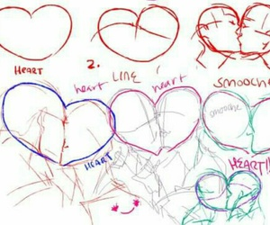 kiss and draw image