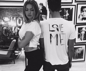 gigi hadid, couple, and model image