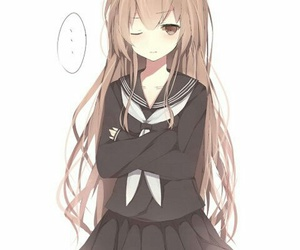 anime girl, toradora, and kawaii image