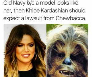 funny and chewbacca image