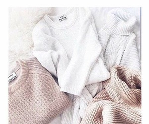clothes, girly, and sweater image