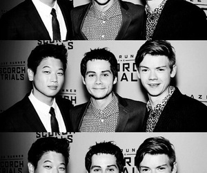 ki hong lee, dylan o'brien, and the maze runner image