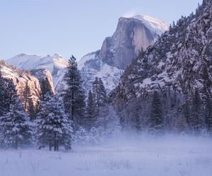 holiday, outdoors, and snow image