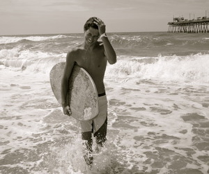 boy, surf, and Hot image