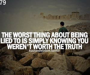alone, truth, and worst image