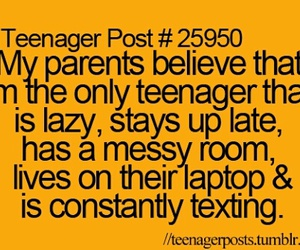 parents, teenager post, and funny image