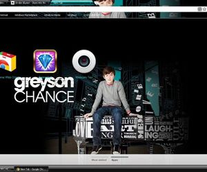 chrome, cool, and greyson chance image