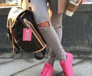 pink, adidas, and style image