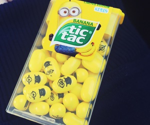 banana, tic tac, and food image