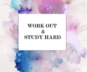 quote, study, and workout image
